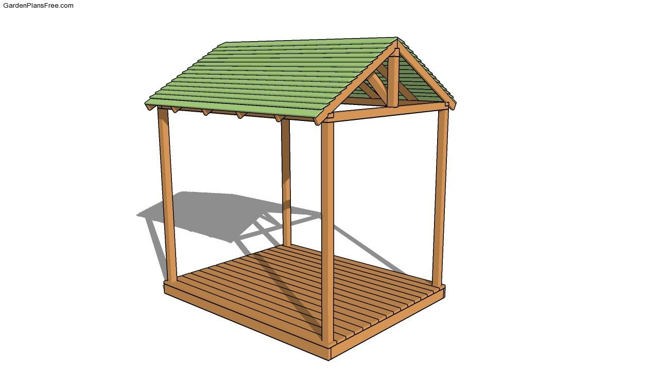 Picnic Shelter Plans | Free Garden Plans - How to build garden ...
