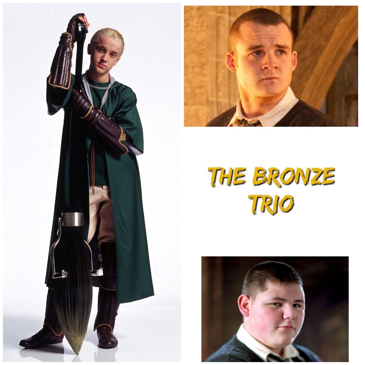 The Bronze Trio Harry Potter Aesthetic Harry Potter World Harry Potter Fandom