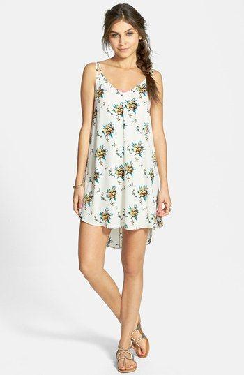f21715d6bf26 Lush Floral Print High Low Dress (Juniors)