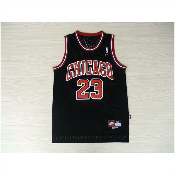 Mens Chicago Bulls Michael Jordan 23 Black Authentic NBA Basketball Jersey  on eBid United States fc948e1ae