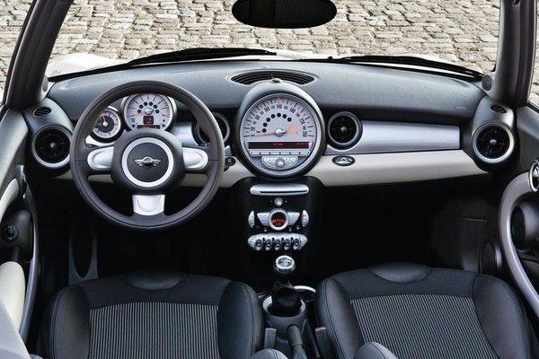 intrieur de la mini cooper tableau de bord moteur voitures anciennes intrieur