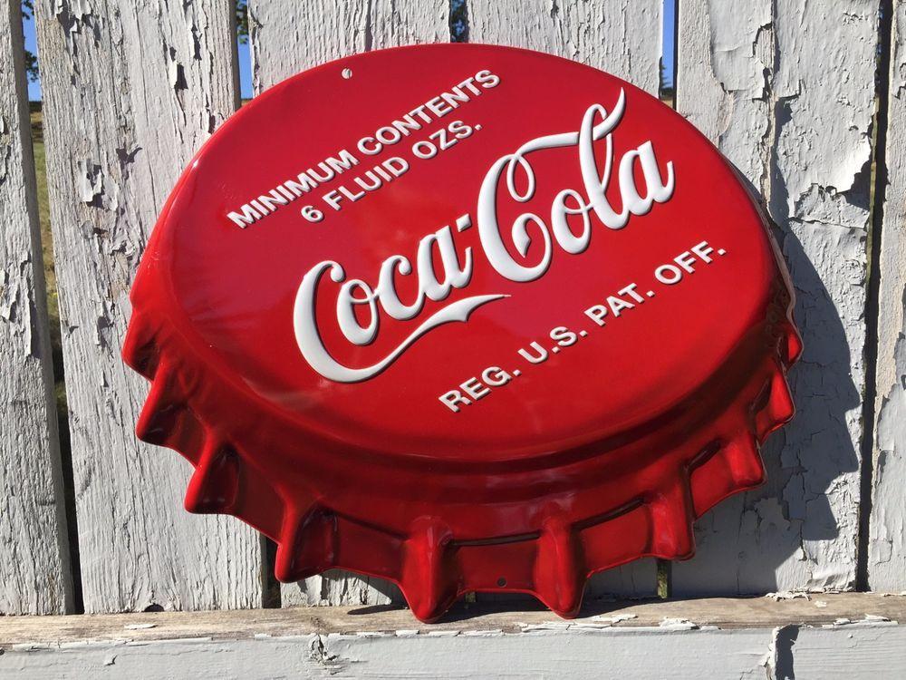 NEW COCA COLA CAP COKE HARLEY DAVIDSON MOTORCYCLE BIKE METAL