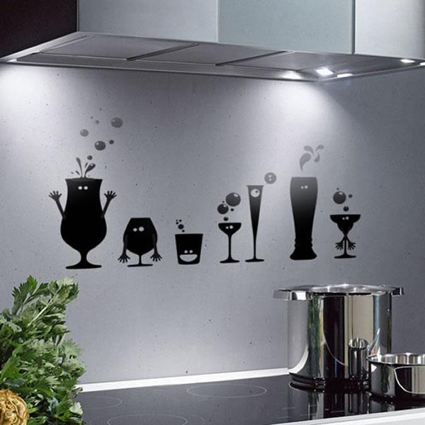 Decoraci n con originales vinilos artstick complementos for Accesorios decorativos para cocina