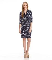 Cascade Print Dress