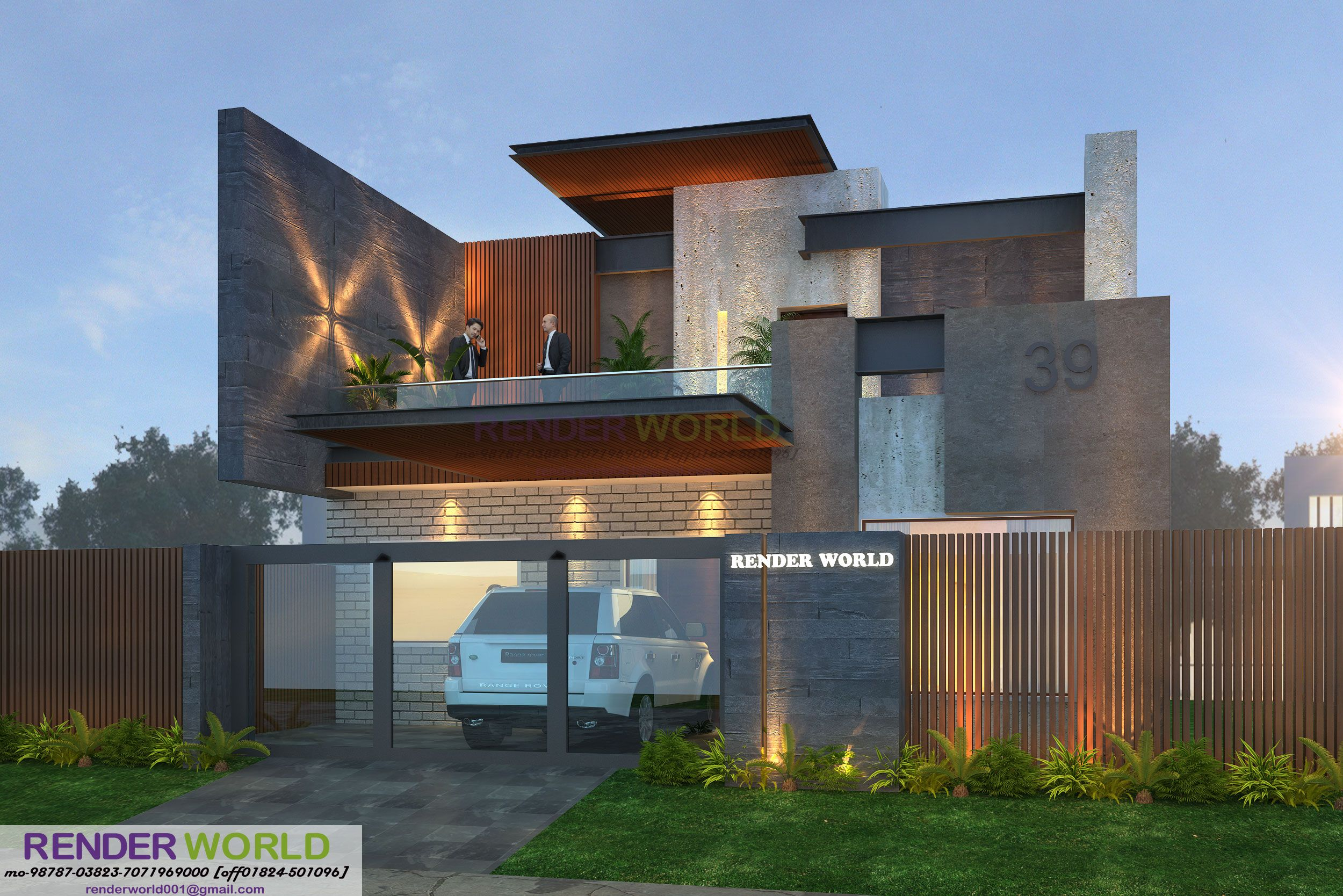 Architectural Modern Elevations  U2013 Modern House