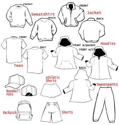 Clothing apparel templates vector | Fashion Sketches | Pinterest ...