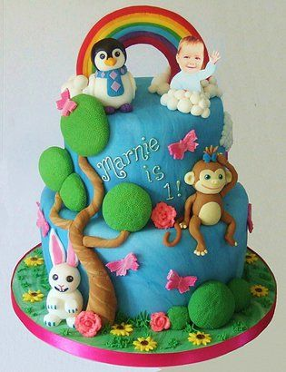 Superb Baby Jake Cbeebies Torta Buscar Con Google With Images Personalised Birthday Cards Epsylily Jamesorg
