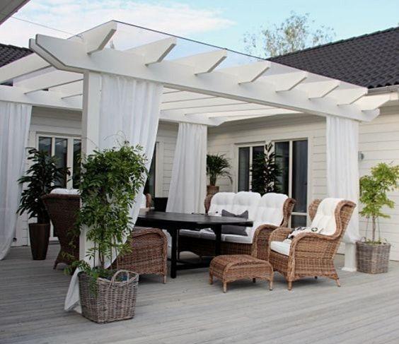 30+ überraschend billig und einfach DIY Pergola-Ideen mit voller Tutorial - Wohn Design