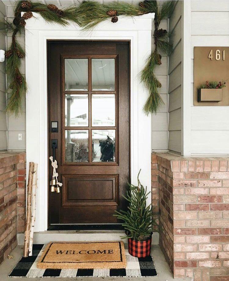 01/15/18 bek likes the door, mats, little tree | my house ...