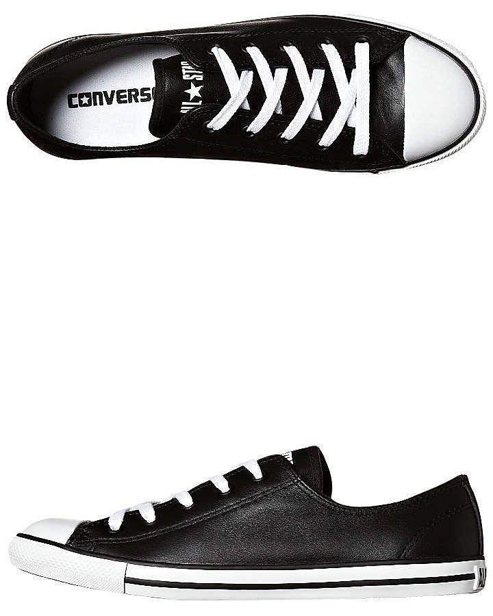 converse chuck taylor dainty black