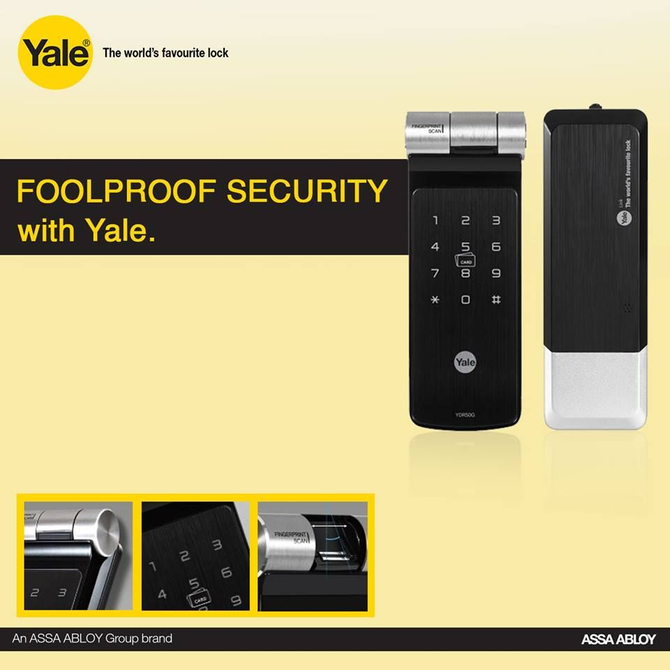 Whether you plan to secure your home or business, Yale