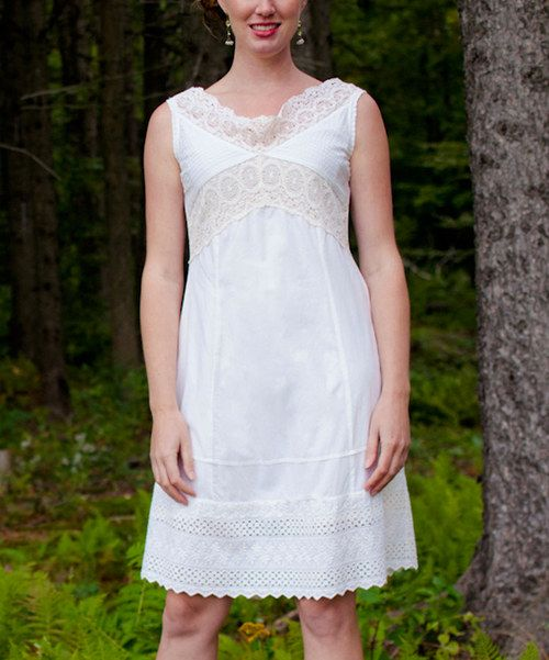 Take a look at this Ecru Brittany Dress on zulily today!