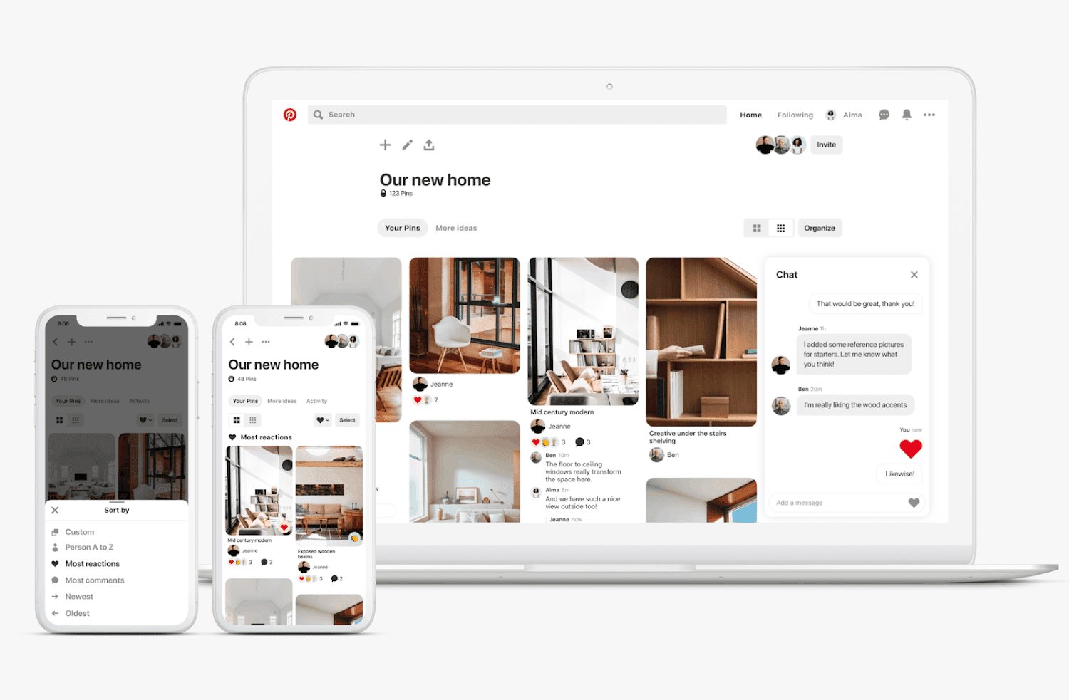 Pinterest Just Introduced A New Way For Its Users To Organize Groups And To React To The Boa Social Media Resources Social Media Pinterest Pinterest Management