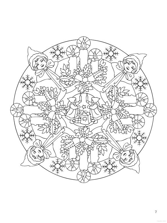 Kleurplaten Voor Volwassenen Kerstmis.Coloring For Adults Kleuren Voor Volwassenen Kerst En Winter