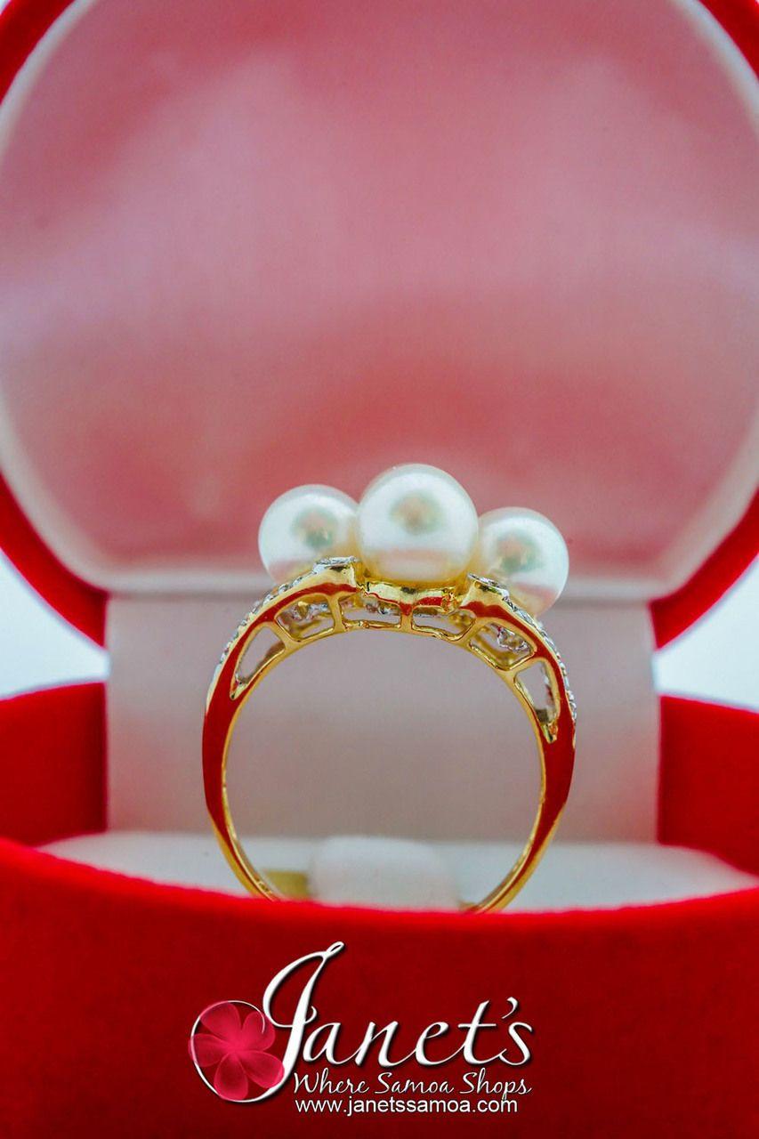 Janet\'s - Tahitian Pearl Ring JFGR16, 399.00 AUD (http://www ...