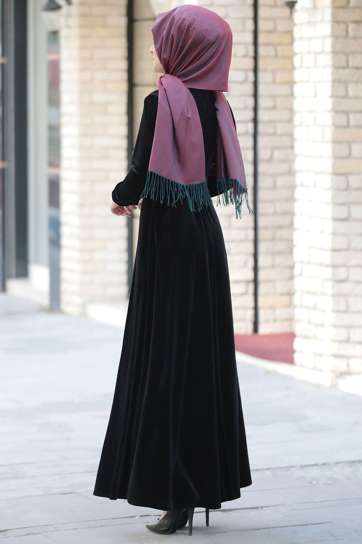Kadin Tesettur Abiye Trendyol Da En Cok Satan Top 10 2020 Elbise Moda Stilleri Kadin