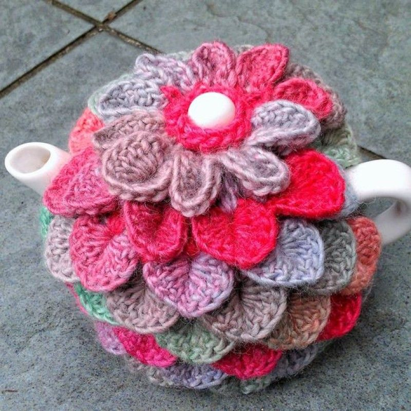 Lovely Teapot Crochet Cozy Patterns