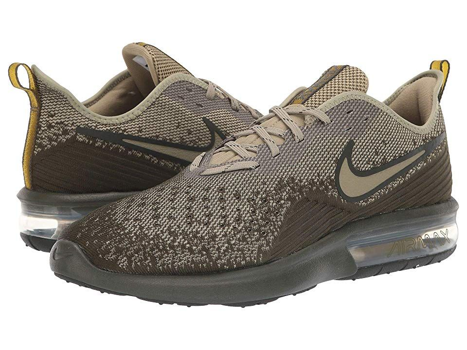 f2eb71e69a0 Nike Air Max Sequent 4 (Cargo Khaki Neutral Olive Peat Moss) Men s Running  Shoes. The lightweight feel easy flexibility and cushioned support of the  Nike ...