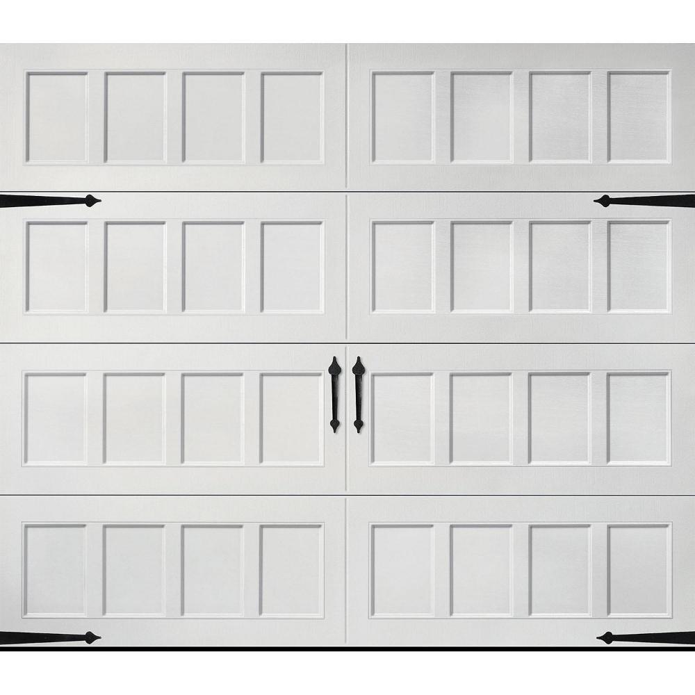 Amarr Oak Summit 2000 White Carriage House Garage Door Multiple Options Garage Doors Garage Door Panels Garage Door House