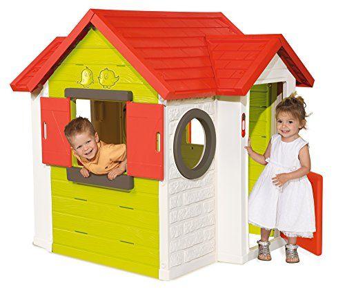 c84f37b24c8af Smoby 810402 - Jeu Plein Air - Maison de Jardin - My House - 120 x 115 x  135 cm