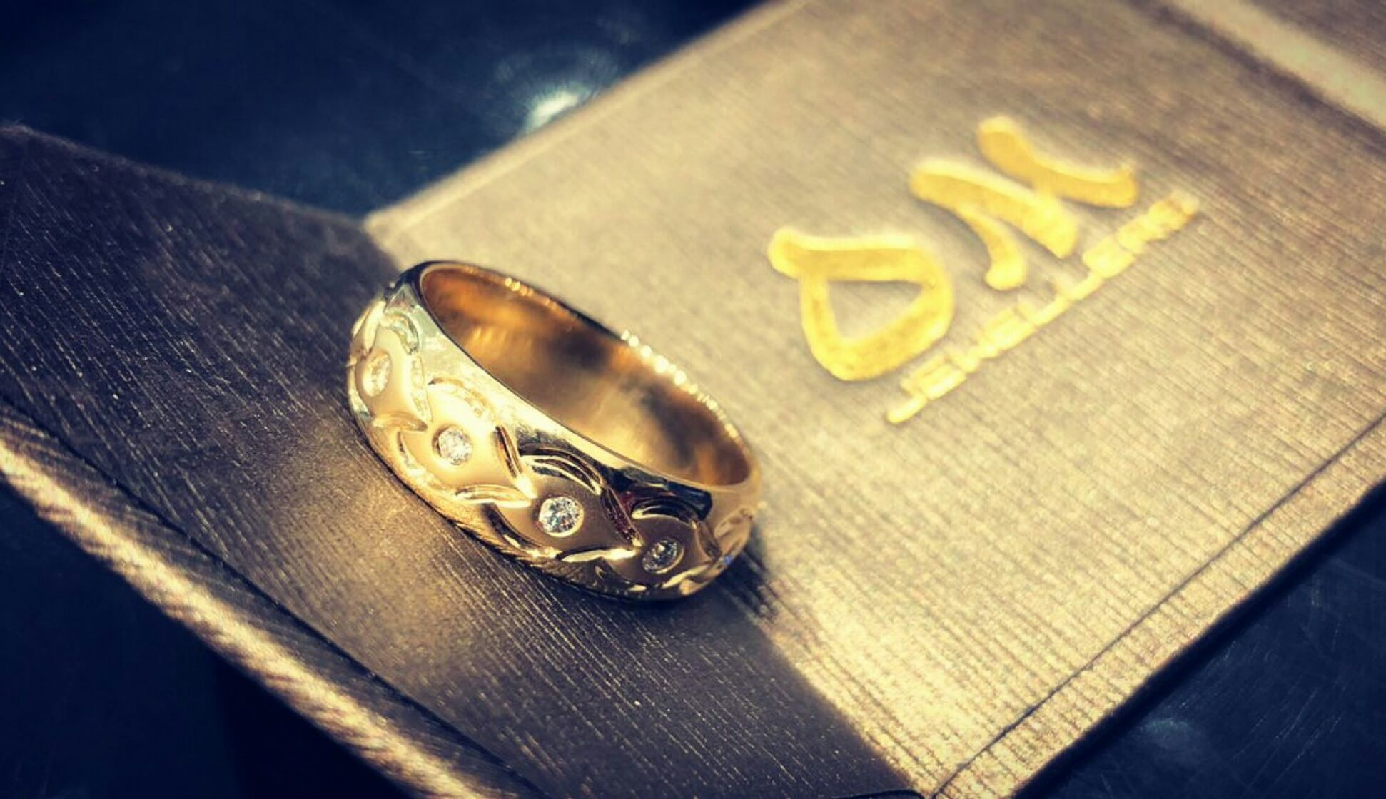 Custom bling for your man Custom make your wedding band in any