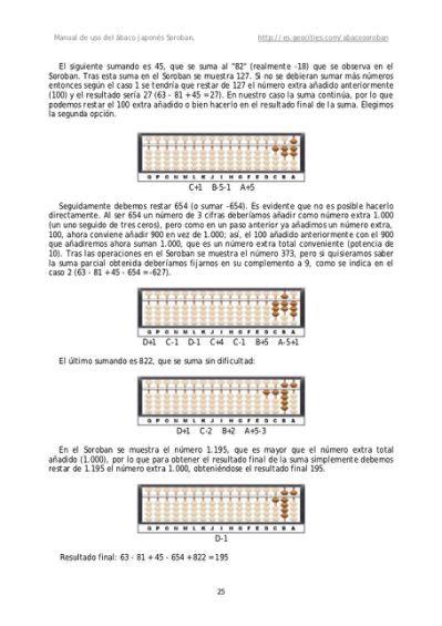 Abacus Math Worksheets with Soroban | العداد الصيني | Pinterest ...