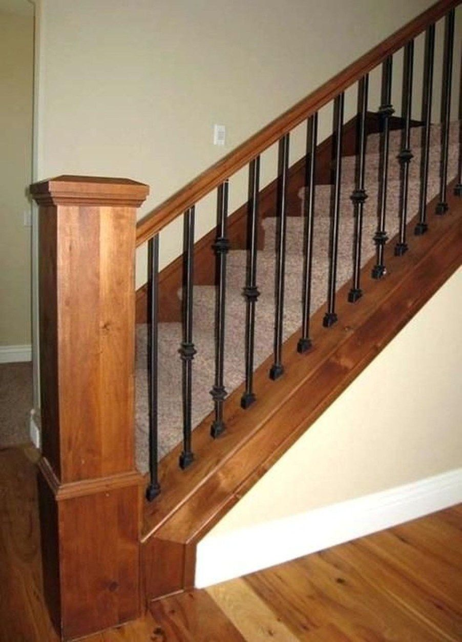 41 Perfect Traditional Stairs To Inspire Yourself | Iron ...