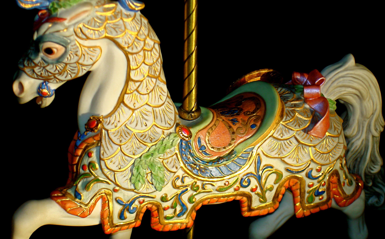 Cybis carousel horse...wow ♥