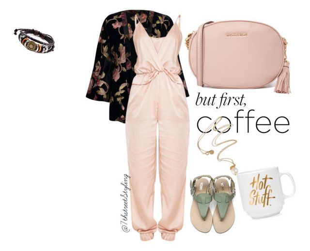 """""""#coffeebreak"""" by the-7thstreetstyling on Polyvore featuring River Island and MICHAEL Michael Kors"""