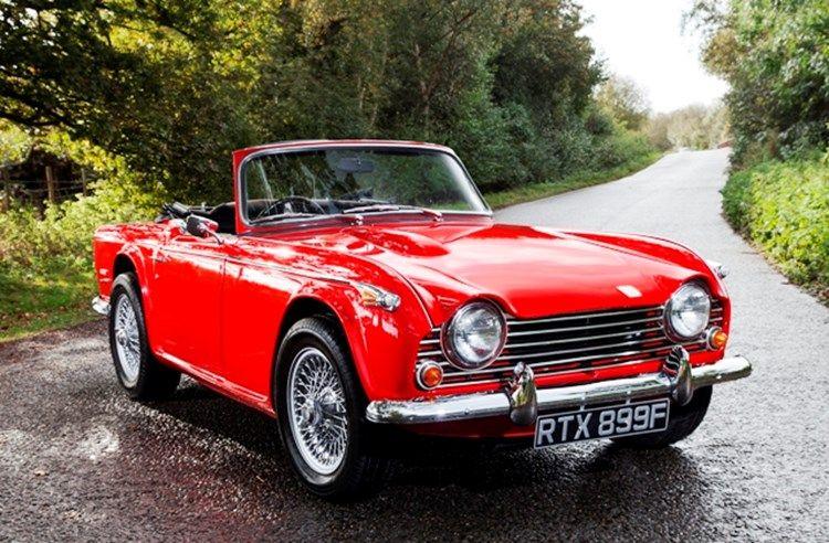Triumph Cars For Sale >> Triumph Tr5 Specialist Classic Sports Car Auctioneers