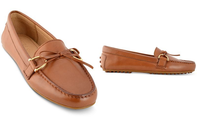 11ef57bfafa Lauren Ralph Lauren Briley Moccasin Flats - Flats - Shoes - Macy s
