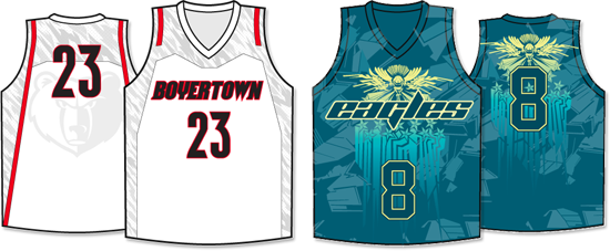 new arrival 988e8 33844 Sublimated Jersey Examples | Sublimated Uniforms- By Allen ...