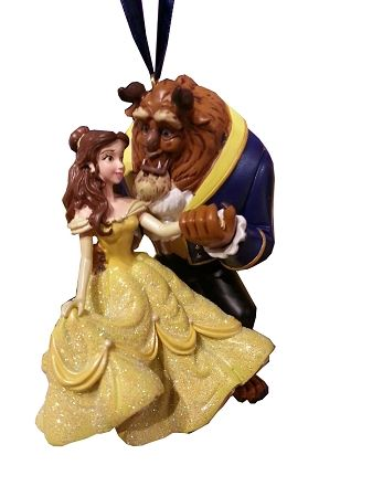 Disney Christmas Ornament Beauty And The Beast Belle