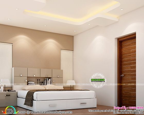 Interior Designs Of Bedroom Living Rooms Kerala Home Design