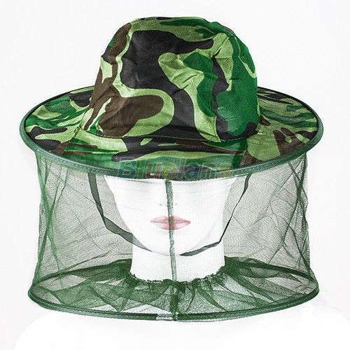 c3277a509396c Mosquito Bug Insect Bee Repellent Net Mesh Protective Hat Head Face ...
