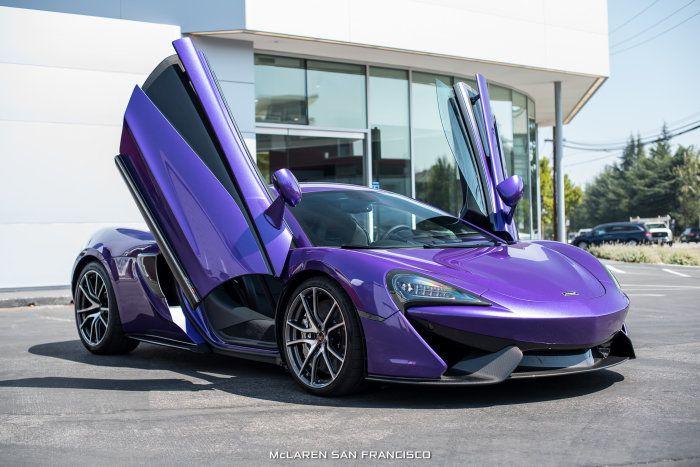 Gallery: Mauvine Blue McLaren 570S