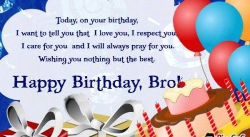 Image Result For Christian Happy Birthday Brother Images Happy