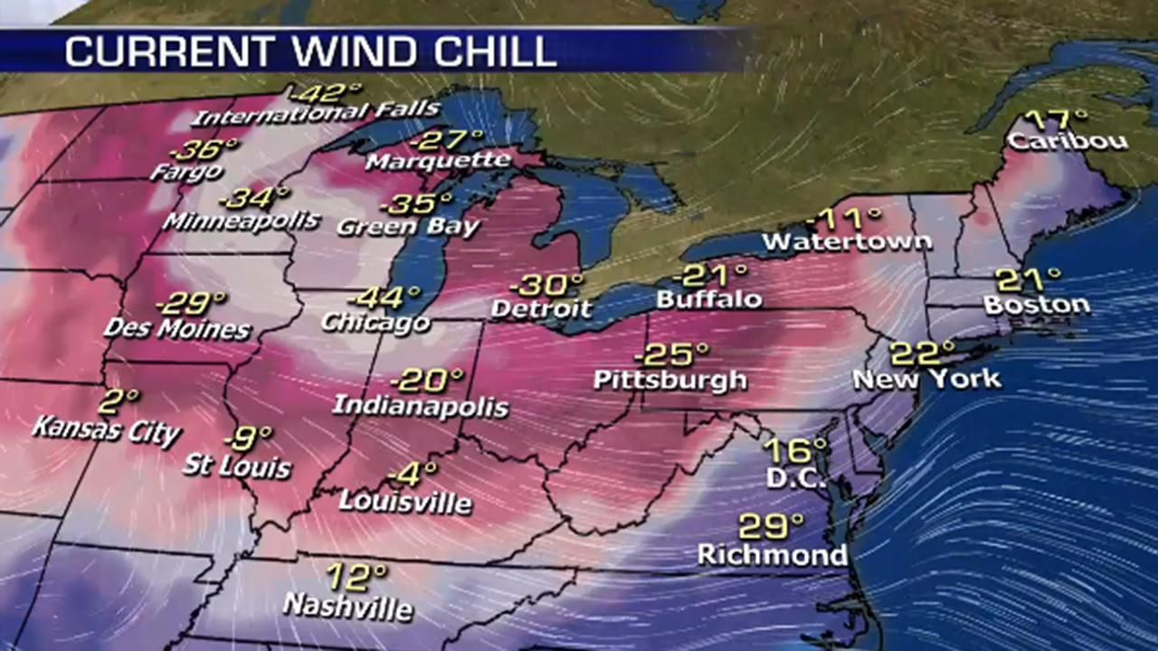Polar Vortex Linked To 8 Deaths As Dangerous Cold Slams The Midwest Arctic Wind Illinois Minneapolis