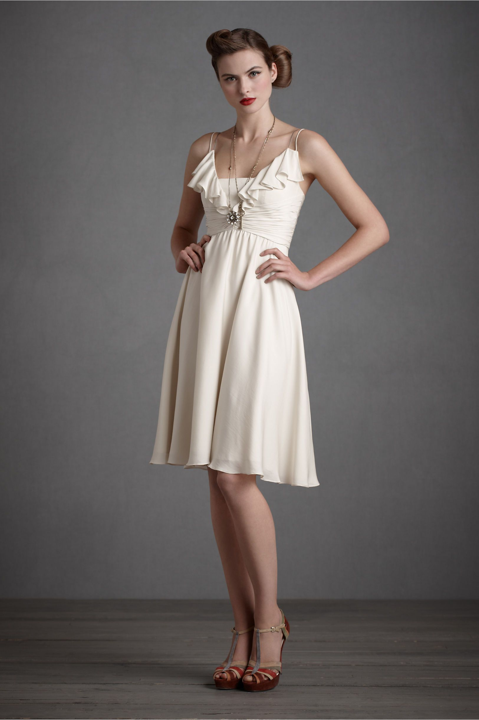 Barbecue Wedding Rehearsal Dinner Dress. Love this dress for a more ...