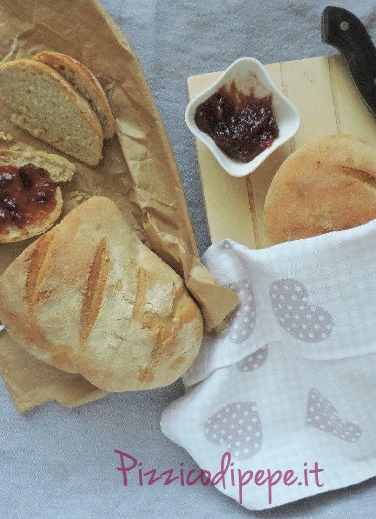 Pane fatto in casa & marmellata