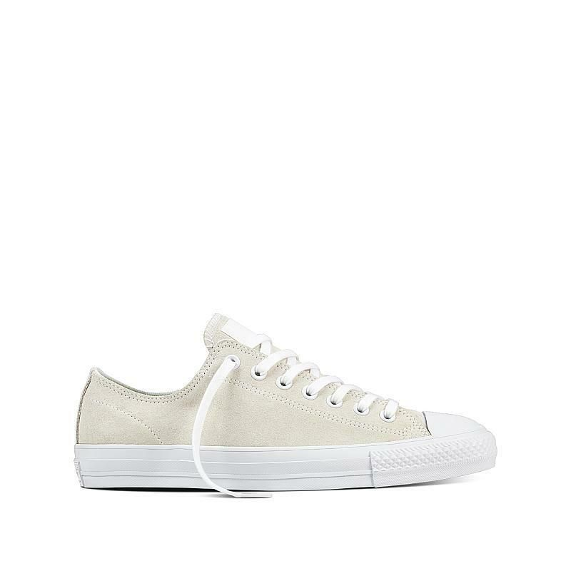 208fe815c199 CONVERSE CHUCK TAYLOR ALL STAR CT AS PRO OX Mens 157871C White Suede NEW   Converse  AthleticSneakers