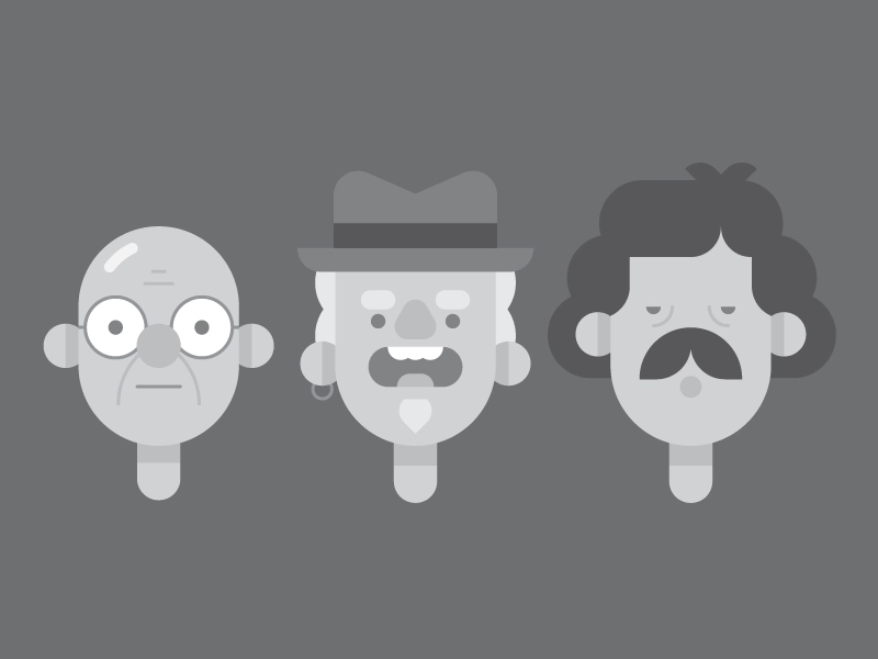 The Critics. by Tyler Nickell on Dribbble