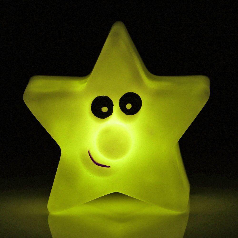Stern Nachtlicht für das Super Mario Kinderzimmer. Leuchtet in ...