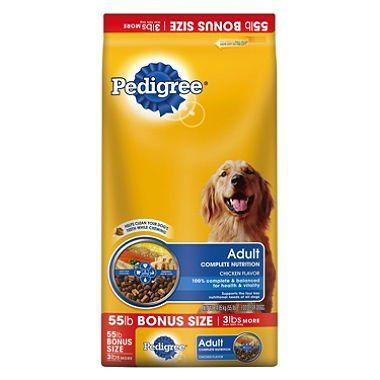 Pedigree Adult Complete Nutrition Dog Food 55 Lbs Pack Of 6