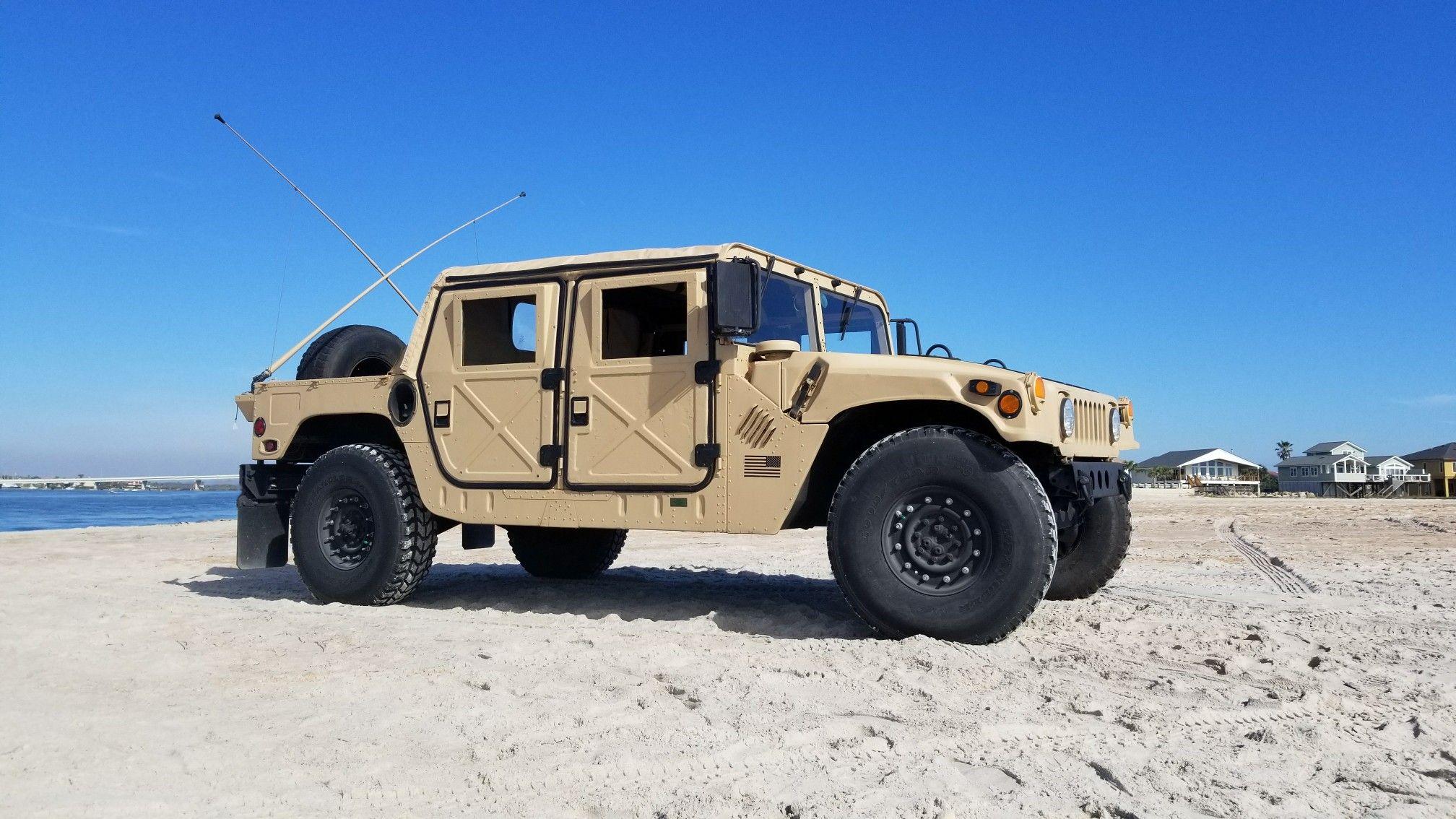 Beachin' it. #HumveeLife   Hummer   Hummer cars, Jeep ...