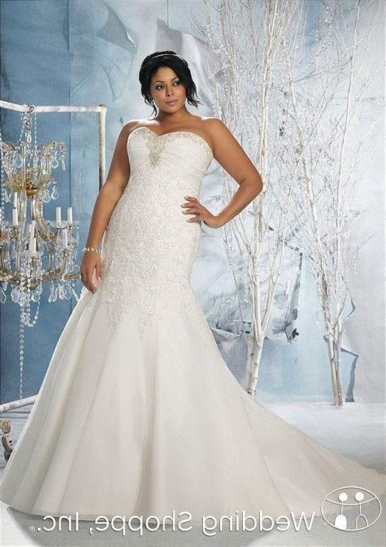 Figure Flattering Plus Size wedding dress   Cheap wedding ideas ...