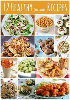 12 deliciously healthy recipes