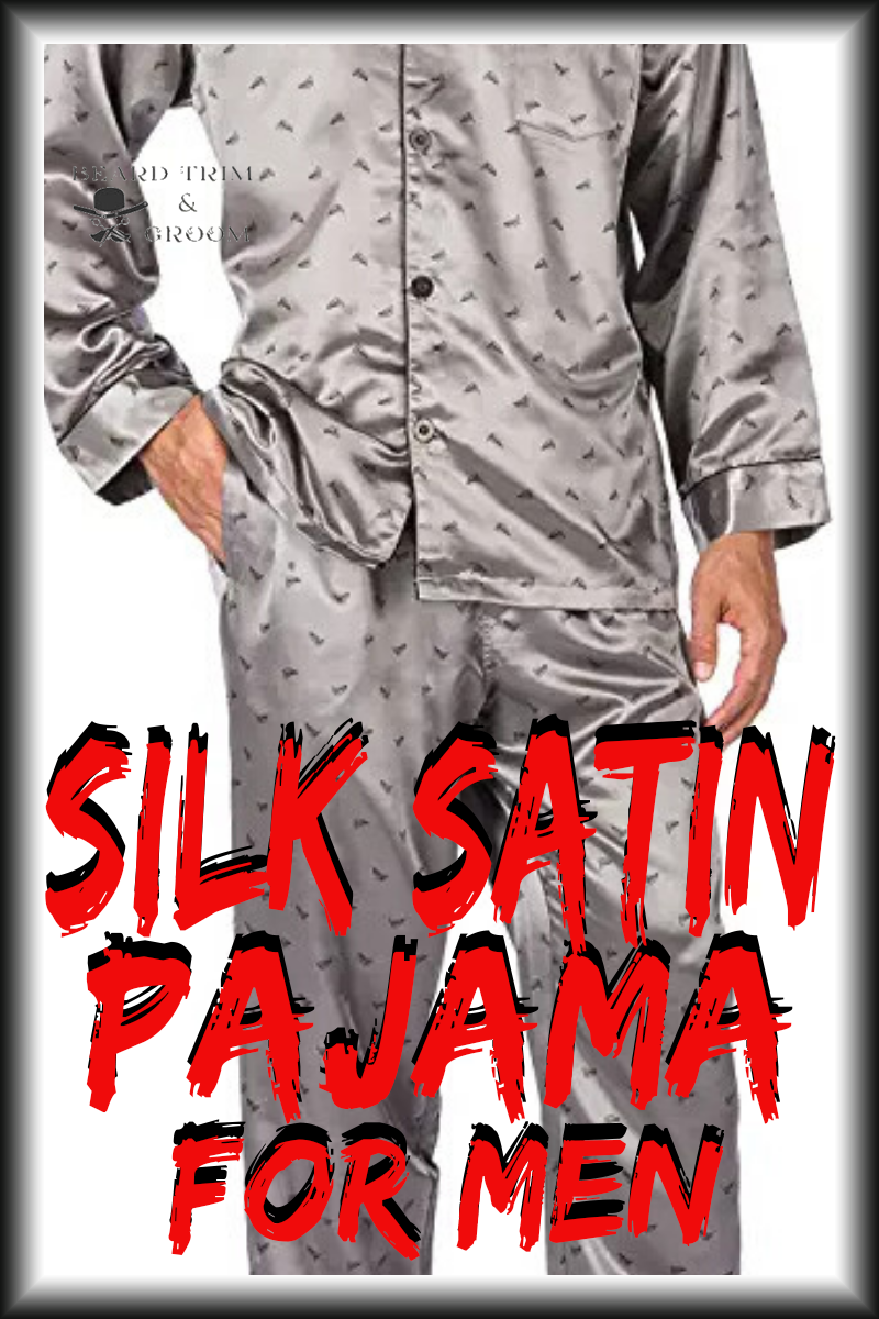 The silk pajamas that Stanley wears in his wedding night