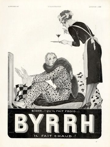 Georges Léonnec  (1881 – 1940). Byrrh, 1931. [Pinned 23-i-2015]