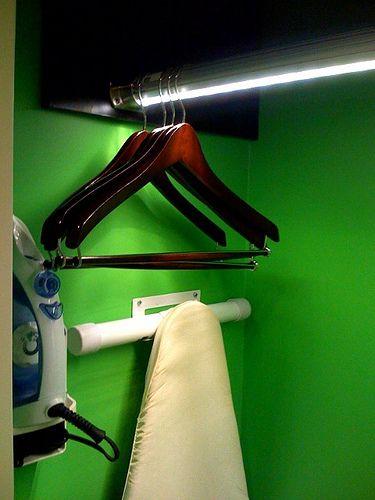 How To Fix A Sagging Closet Rod    Via WikiHow.com